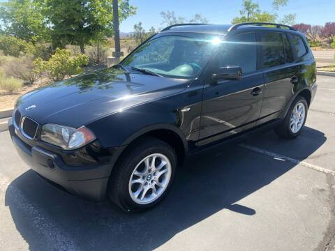 2004 BMW X3 for sale at City Auto Sales in Sparks NV