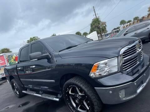 2014 RAM Ram Pickup 1500 for sale at WHEEL UNIK AUTOMOTIVE & ACCESSORIES INC in Orlando FL