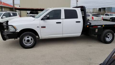 2012 RAM Ram Pickup 3500 for sale at Key City Motors in Abilene TX