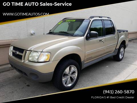 2002 Ford Explorer Sport Trac for sale at Go Time Automotive in Sarasota FL