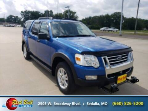 2010 Ford Explorer Sport Trac for sale at RICK BALL FORD in Sedalia MO