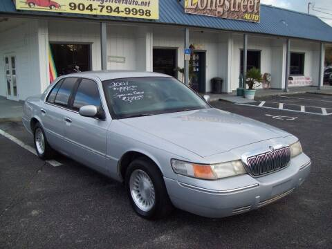 2001 Mercury Grand Marquis for sale at LONGSTREET AUTO in St Augustine FL