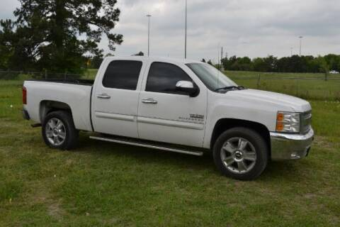 2012 Chevrolet Silverado 1500 for sale at WOODLAKE MOTORS in Conroe TX