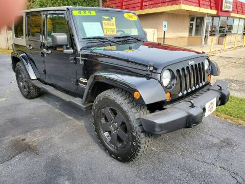 2007 Jeep Wrangler Unlimited for sale at Stach Auto in Janesville WI