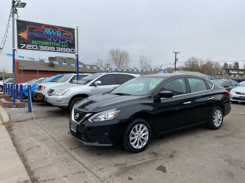 2018 Nissan Sentra for sale at AWD Denver Automotive LLC in Englewood CO