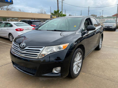2012 Toyota Venza for sale at Houston Auto Gallery in Katy TX
