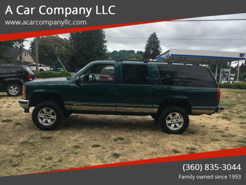 1995 Chevrolet Suburban for sale at A Car Company LLC in Washougal WA