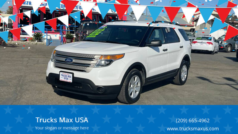 2013 Ford Explorer for sale at Trucks Max USA in Manteca CA