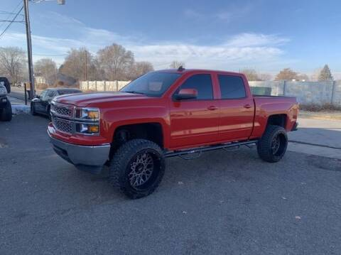 2015 Chevrolet Silverado 1500 for sale at Hoskins Trucks in Bountiful UT