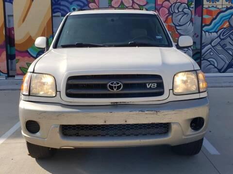2002 Toyota Sequoia for sale at Delta Auto Alliance in Houston TX