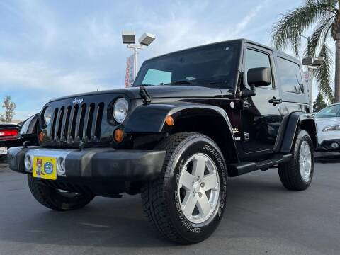 2008 Jeep Wrangler for sale at CARSTER in Huntington Beach CA