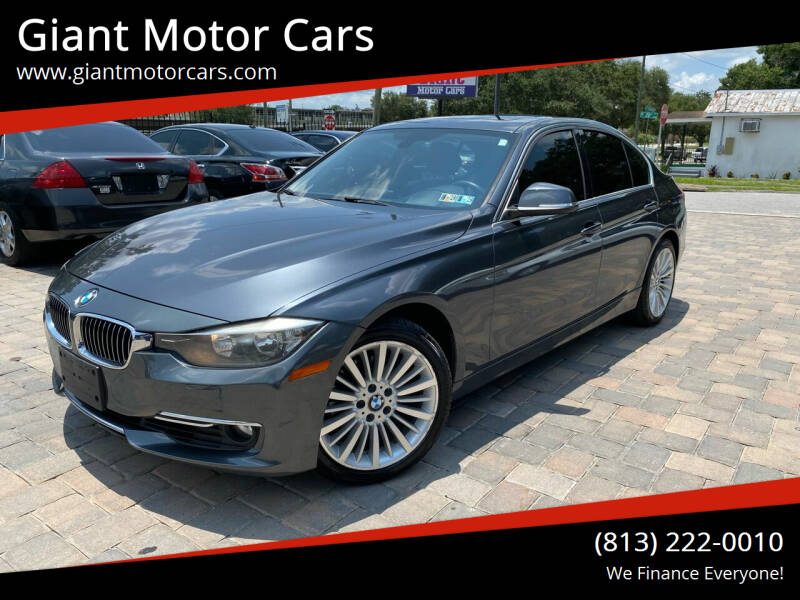 2012 BMW 3 Series for sale at Giant Motor Cars in Tampa FL