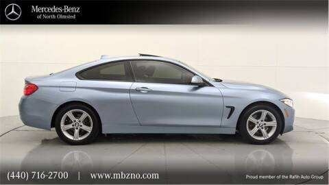 2014 BMW 4 Series for sale at Mercedes-Benz of North Olmsted in North Olmsted OH