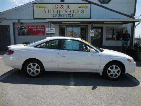 1999 Toyota Camry Solara for sale at G&R Auto Sales in Lynnwood WA