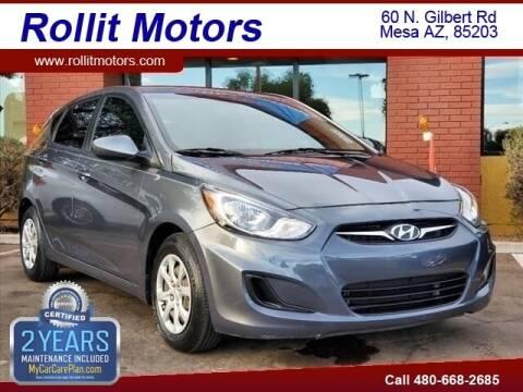 2013 Hyundai Accent for sale at Rollit Motors in Mesa AZ