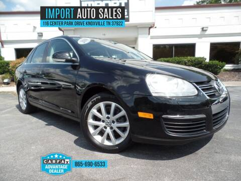 2010 Volkswagen Jetta for sale at IMPORT AUTO SALES in Knoxville TN
