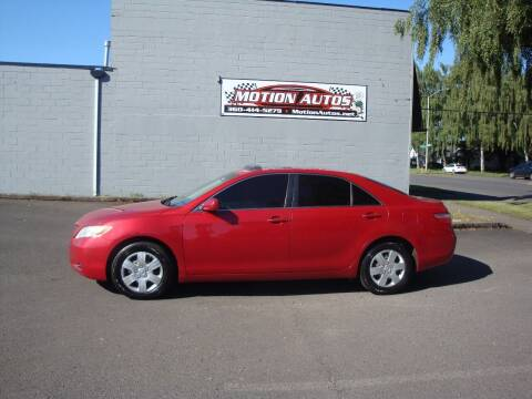 2007 Toyota Camry for sale at Motion Autos in Longview WA