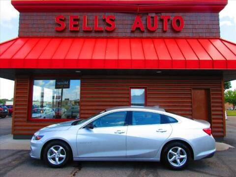 2016 Chevrolet Malibu for sale at Sells Auto INC in Saint Cloud MN