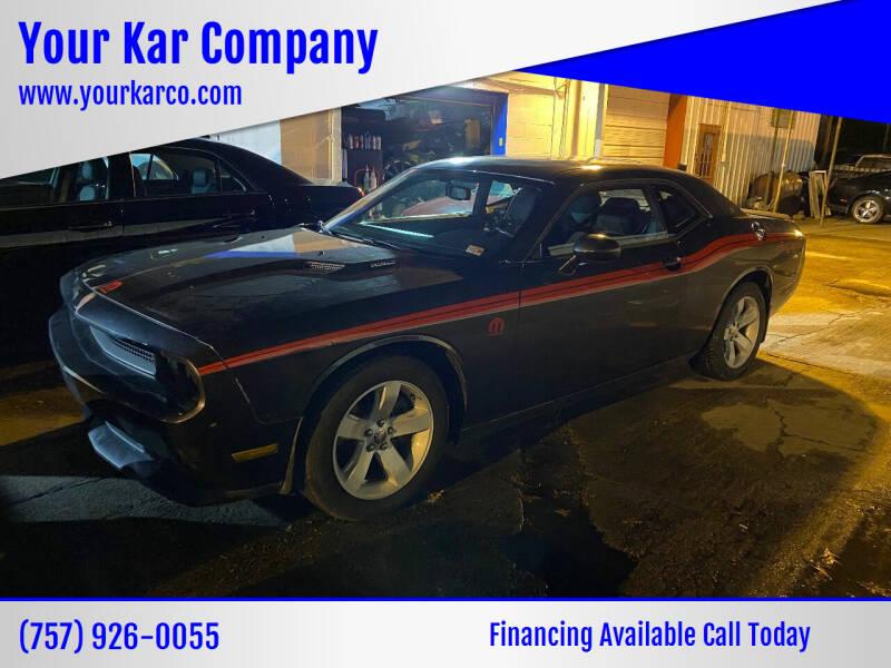 2014 Dodge Challenger for sale at Your Kar Company in Norfolk VA