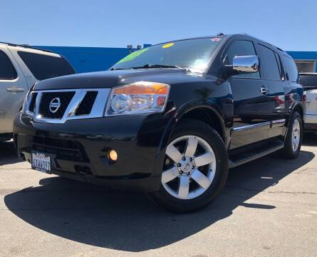 2012 Nissan Armada for sale at LUGO AUTO GROUP in Sacramento CA