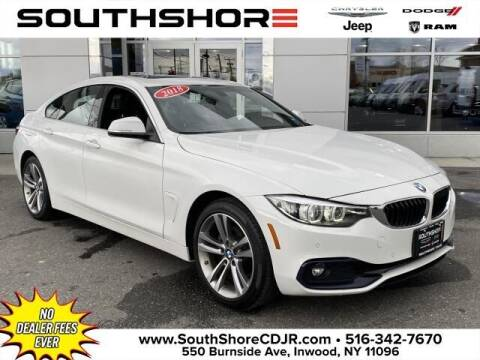 2018 BMW 4 Series for sale at South Shore Chrysler Dodge Jeep Ram in Inwood NY