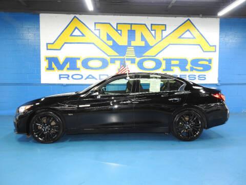 2018 Infiniti Q50 for sale at ANNA MOTORS, INC. in Detroit MI
