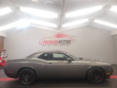 2012 Dodge Challenger for sale at Premium Motors in Villa Park IL