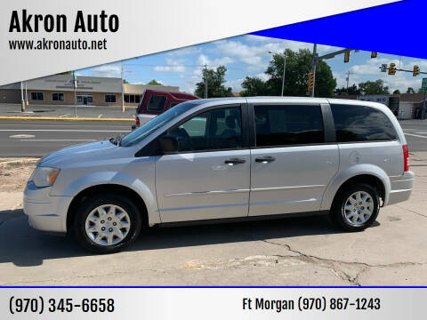 2008 Chrysler Town and Country for sale at Akron Auto - Fort Morgan in Fort Morgan CO
