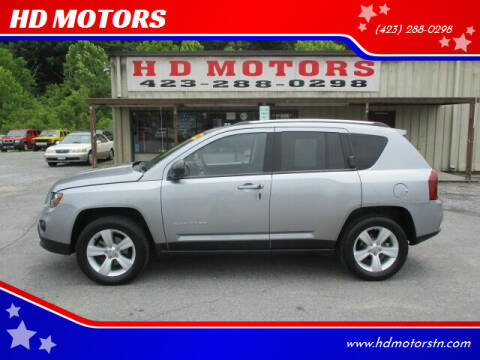 2014 Jeep Compass for sale at HD MOTORS in Kingsport TN