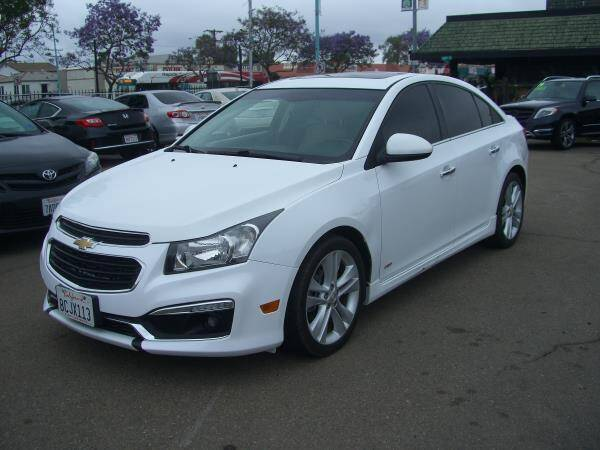 2016 Chevrolet Cruze Limited for sale in San Diego, CA