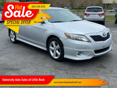 2010 Toyota Camry for sale at University Auto Sales of Little Rock in Little Rock AR