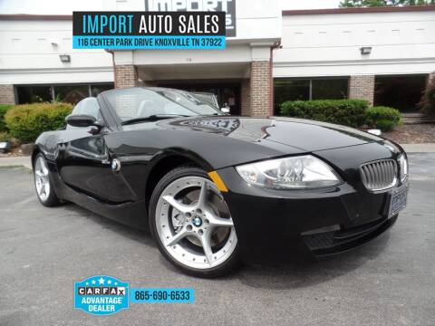 2006 BMW Z4 for sale at IMPORT AUTO SALES in Knoxville TN