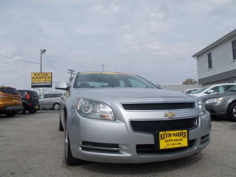 2012 Chevrolet Malibu for sale at Kevin Harper Auto Sales in Mount Zion IL
