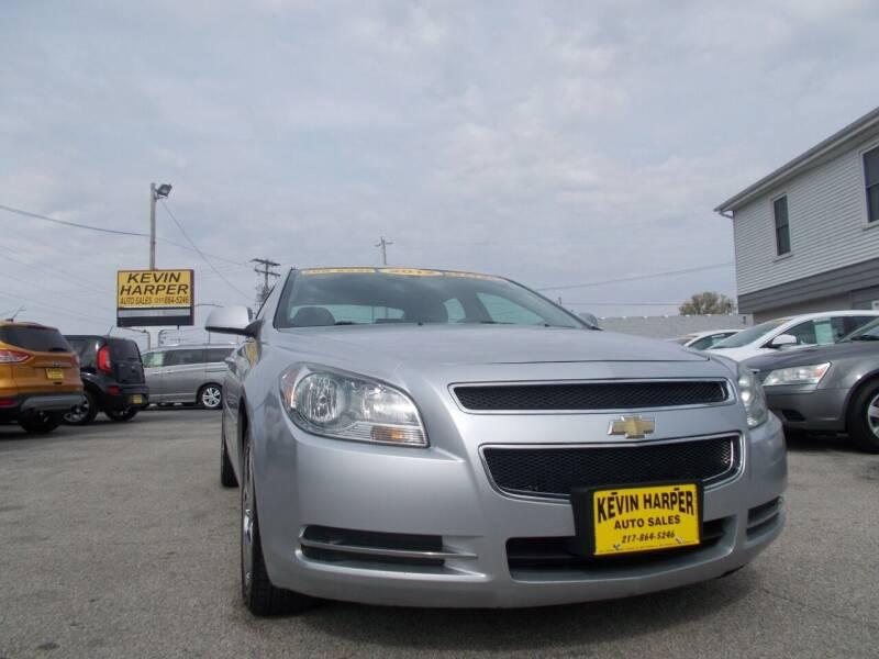 2012 Chevrolet Malibu for sale at Kevin Harper Auto Sales in Mount Zion IL