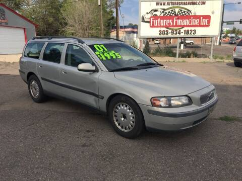 2001 Volvo V70 for sale at FUTURES FINANCING INC. in Denver CO