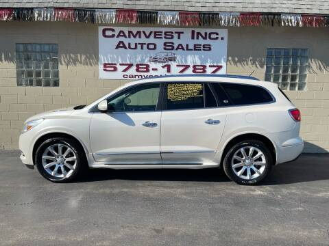 2013 Buick Enclave for sale at Camvest Inc. Auto Sales in Depew NY