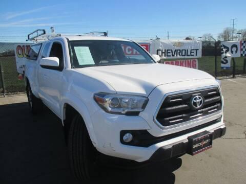 2017 Toyota Tacoma for sale at Quick Auto Sales in Modesto CA