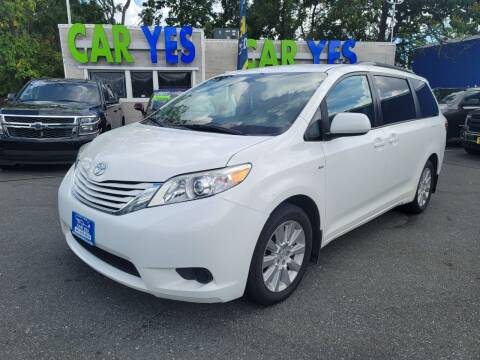 2016 Toyota Sienna for sale at Car Yes Auto Sales in Baltimore MD
