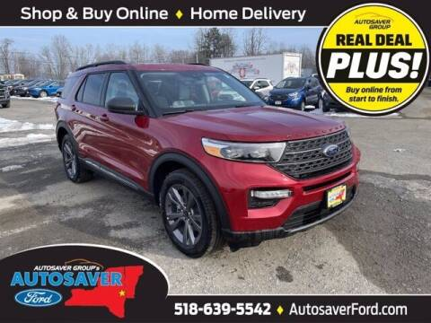 2021 Ford Explorer for sale at Autosaver Ford in Comstock NY