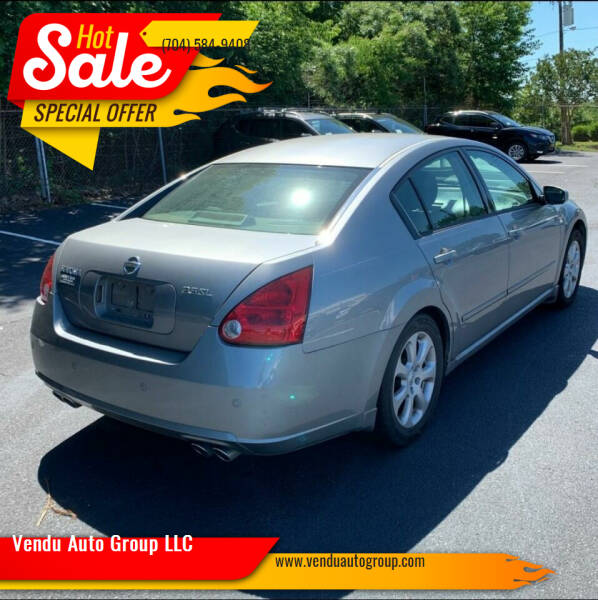 2007 Nissan Maxima for sale at Vendu Auto Group LLC in Charlotte NC