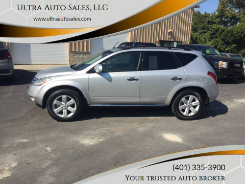 2007 Nissan Murano for sale at Ultra Auto Sales, LLC in Cumberland RI