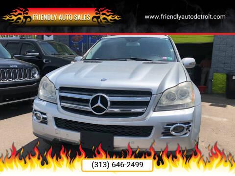 2008 Mercedes-Benz GL-Class for sale at Friendly Auto Sales in Detroit MI