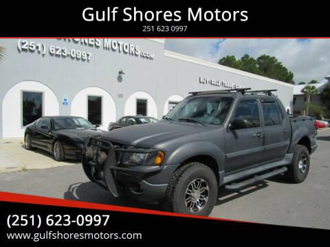 2002 Ford Explorer Sport Trac for sale at Gulf Shores Motors in Gulf Shores AL