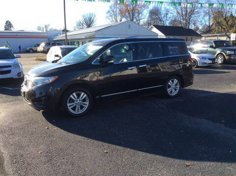 2011 Nissan Quest for sale at BISHOP MOTORS inc. in Mount Carmel IL