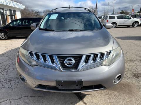 2009 Nissan Murano for sale at BULLSEYE MOTORS INC in New Braunfels TX