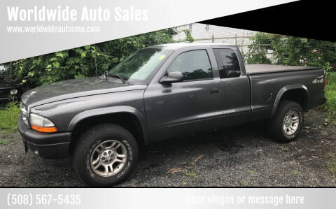 2004 Dodge Dakota for sale at Worldwide Auto Sales in Fall River MA