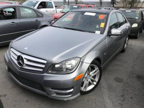2012 Mercedes-Benz C-Class for sale at SoCal Auto Auction in Ontario CA