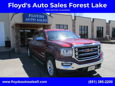 2017 GMC Sierra 1500 for sale at Floyd's Auto Sales Forest Lake in Forest Lake MN
