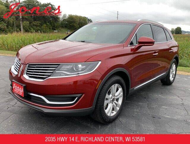2018 Lincoln MKX for sale at Jones Chevrolet Buick Cadillac in Richland Center WI