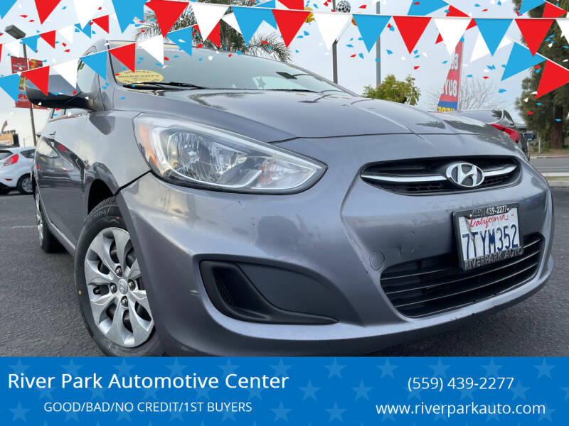2017 Hyundai Accent for sale at River Park Automotive Center in Fresno CA